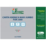 ROTOLO CARTA IGIENICA MAXI JUMBO FOR J360