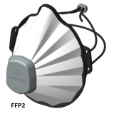 MASCHERINA FFP2 LAVABILE Comfort Mask LINDHAUS